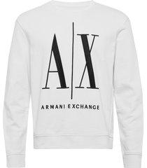 ax man sweatshirt sweat-shirt trui wit armani exchange