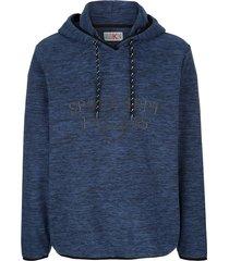 fleece trui roger kent blauw