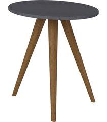 mesa lateral 500 expresso be mobiliã¡rio cinza - cinza - dafiti