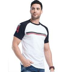 camiseta para hombre bicolor mp