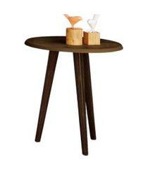 mesa de canto lyam decor marrom