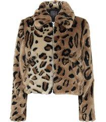 ibi leopard jacket