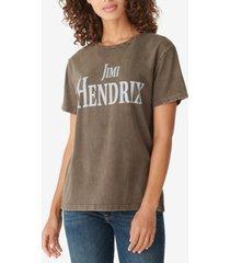 lucky brand jimi hendrix graphic t-shirt