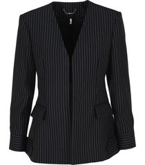 chloe pinstriped blazer