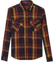 camisa john john alex algodão xadrez masculina (xadrez, gg)
