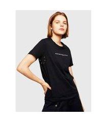 camiseta diesel t-sily-wr feminina