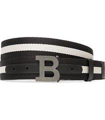 bally iconic buckle reversible belt