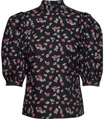tami blouses short-sleeved zwart custommade