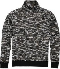 paisley & gray slim fit turtleneck sweater dark gray