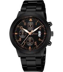 reloj hombre cuarzo deportivo 946 negro