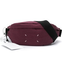 maison margiela crossbody belt ba - purple
