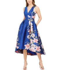 eliza j printed floral dress