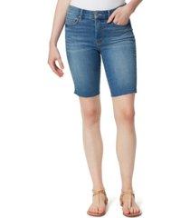 jessica simpson adore slim-fit bermuda jean shorts