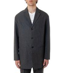 oamc kurt wool blend tailored jacket