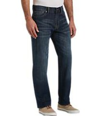 lucky brand 361 greenfield dark wash classic fit jeans