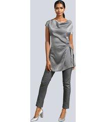 blus alba moda grå
