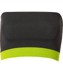 top john john boston tricot preto feminino (preto, gg)