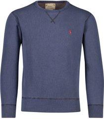 ralph lauren sweater donkerblauw ronde hals