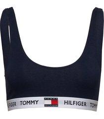 bralette lingerie bras & tops soft bras blå tommy hilfiger