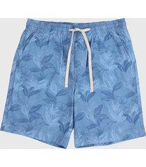 pantaloneta azul  nautica