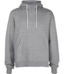 john elliott kake mock 2 hoodie - grey