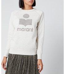 isabel marant étoile women's milly sweatshirt - ecru - fr 40/uk 12
