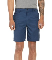 men's hurley dri-fit shorts, size 30 - blue