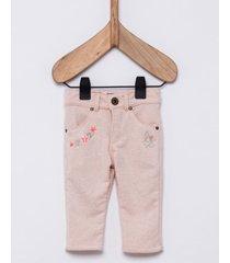 pantalón natural wanama boys & girls pink