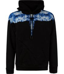 marcelo burlon regular smoke wings hoodie