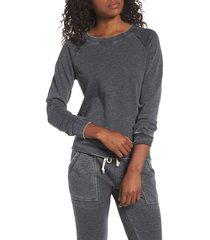 women's alternative lazy day pullover, size x-small - grey