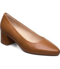 comfort ballerina/pumps shoes heels pumps classic brun gabor