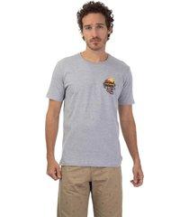 camiseta masculina express cinza - cinza - masculino - dafiti