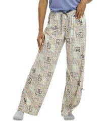 hue women's doggie doodle classic pajama pants