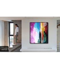 abstrakcja - dekoracja ścienna 70x80 cm wys.