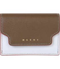 marni wallet with logo