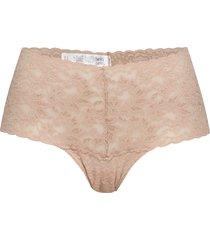 retro thong retro lace stringtrosa underkläder creme hanky panky