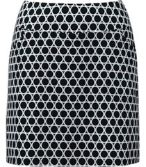 charter club petite geneva dot-print skort, created for macy's