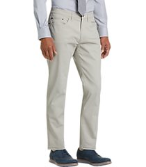joseph abboud off-white micro dot modern fit casual pants