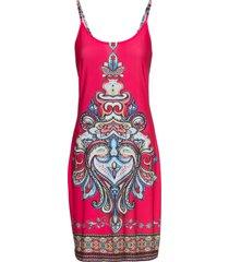abito con stampa estiva (fucsia) - bodyflirt boutique