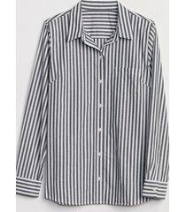 blusa rayas mujer blanco gap