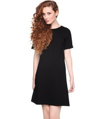sukienka prosta czarna