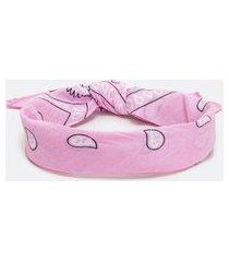 bandana estampada | accessories | rosa | u