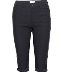 amie-sho-power trousers capri trousers blå free/quent