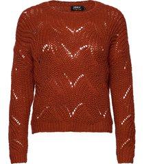onlhavana l/s pullover knt noos stickad tröja röd only