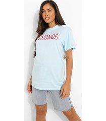 oversized mykonos t-shirt, light blue