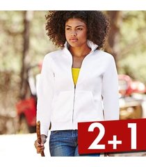 fruit of the loom lady-fit sweat jacket * gratis verzending *