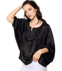 blusa negra vindaloo velvet