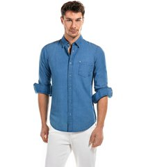 camisa indigo   azul new man