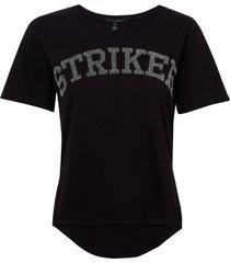 camiseta rosa chá skipper malha algodão preto feminina (preto, gg)