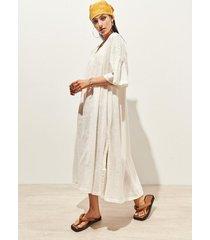 vestido blanca 47 street loren